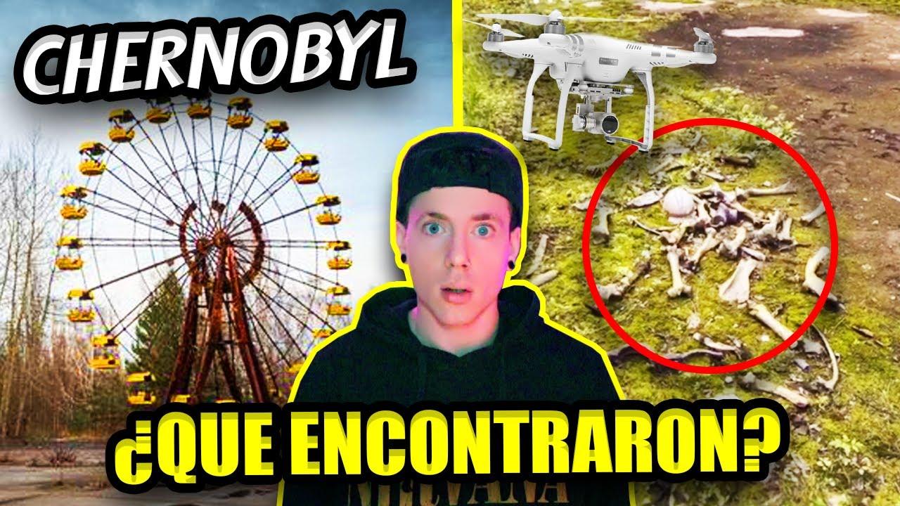 Un DRONE VUELA sobre CHERNOBYL y MUESTRA algo ATERRADOR| IMAGENES REALES