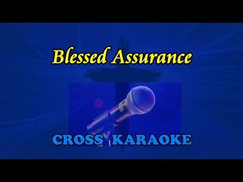 Blessed Assurance - karaoke backing by Allan Saunders