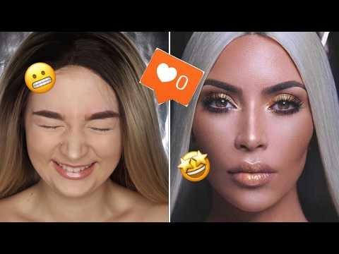 I Recreated Kim Kardashian's Instagram... I FAILED