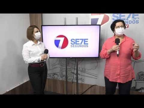 Entrevista da Sec. de Saúde de Arapiraca Dra. Luciana Fonseca para o 7 Segundos
