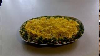 """Салат """" Мимоза"""" с плавленым сыром"""