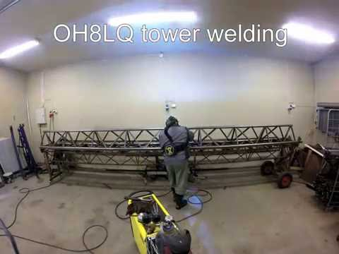 OH8LQ tower welding