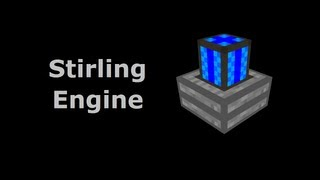 Stirling Engine (Tekkit/Feed The Beast) - Minecraft In Minutes