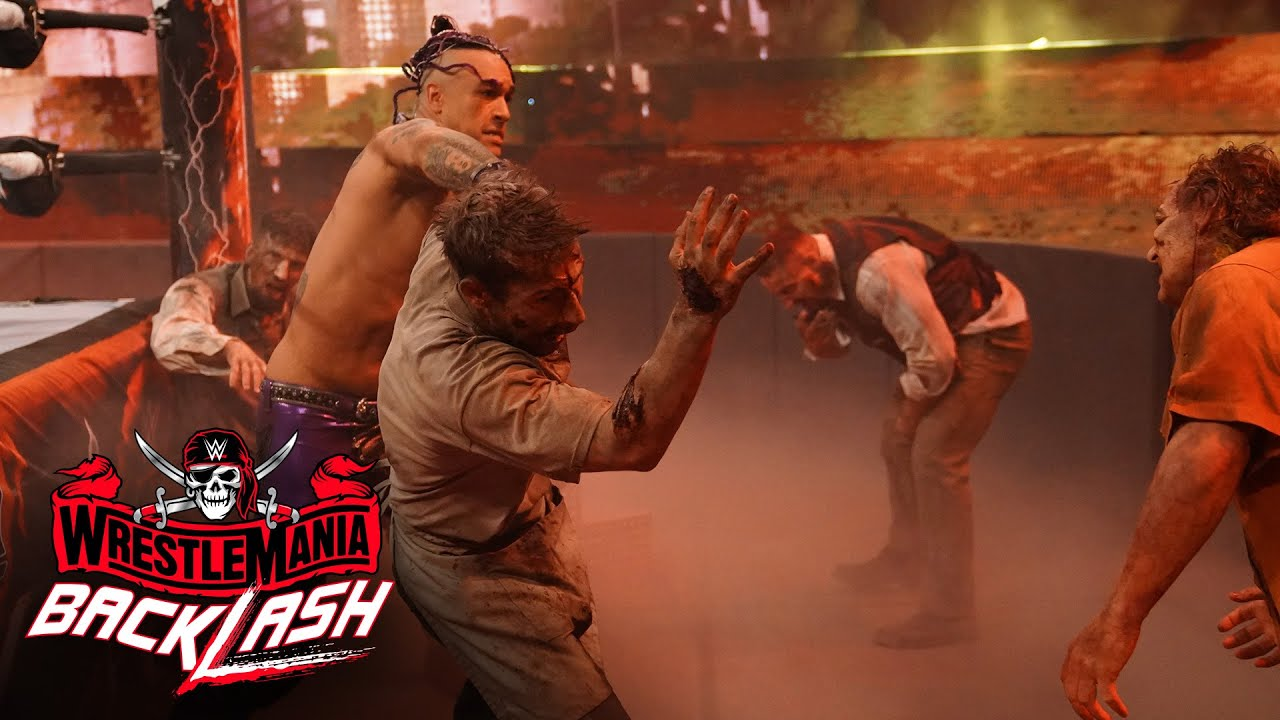 Download Priest and Miz fight off Army of the Dead: WrestleMania Backlash 2021 (WWE Network Exclusive)