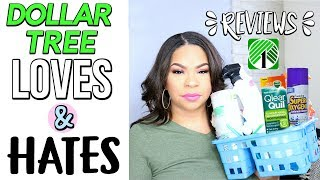 DOLLAR TREE LOVES & LOATHES 2017 | PRODUCT REVIEWS FROM MY DOLLAR STORE HAULS | Sensational Finds