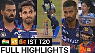 Download India Vs Sri Lanka 1st T20 Match Full Match Highlights   IND VS SL 1st T20 FULL HIGHLIGHT Ind vs SL