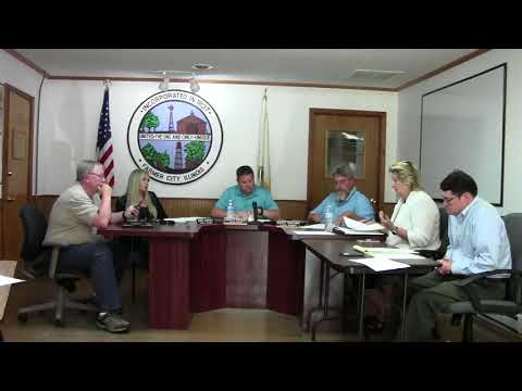 Farmer City Council Meeting June 18, 2018