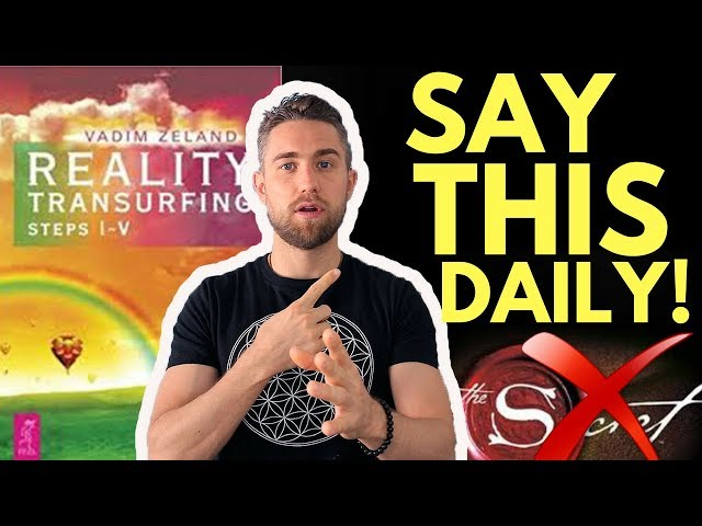 How to Use Affirmations with Reality Transurfing (New Law of Attraction Process)