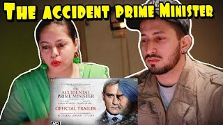 The Accidental Prime Minister | Official Trailer | reaction on the accidental prime minister