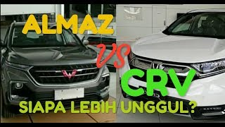Wuling Almaz vs Honda CRV Turbo: mana yang lebih unggul?