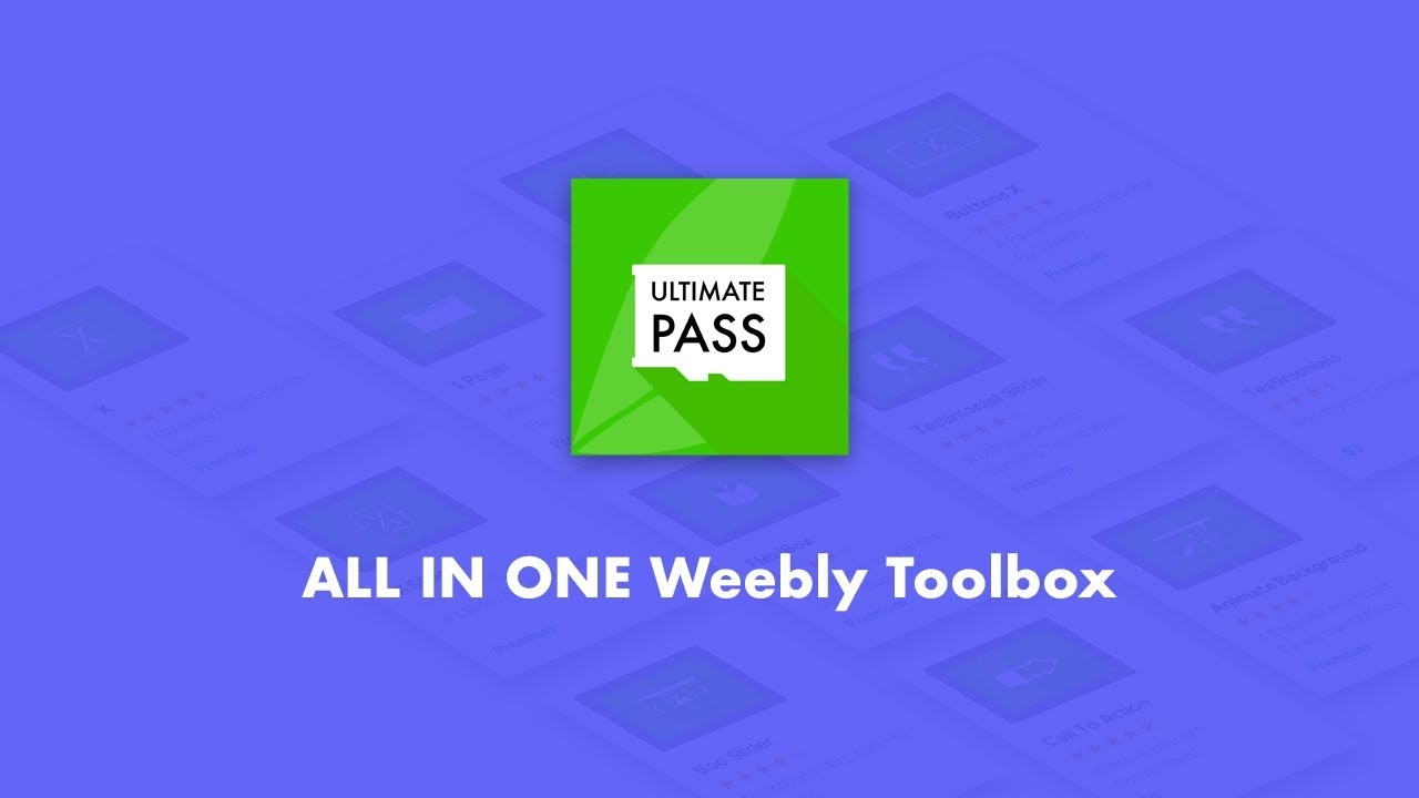 Get FULL ACCESS To All of Our Amazing Weebly Apps and All Future Apps
