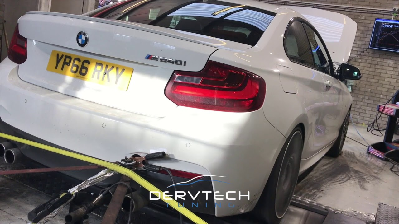 BMW M240i B58 Tuned at DervTech 461hp!