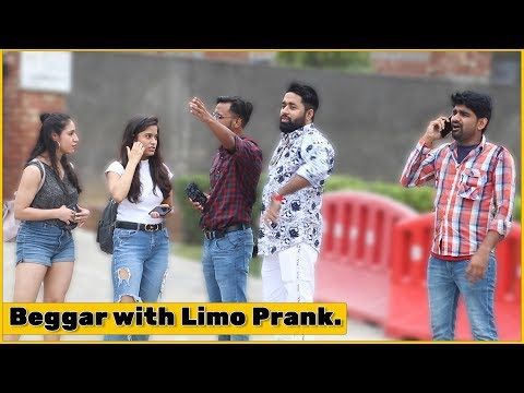 Rich Beggar With Limo Prank - Ft. Pawan MB | The HunGama Films
