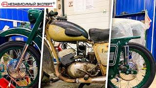 Спасти мотоцикл Деда!