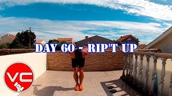 DAY 60 - 25 MIN FAT BURNER WORKOUT - RIP'T UP