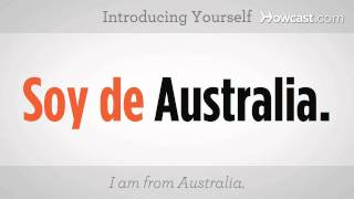 How to Introduce Yourself | Spanish Lessons