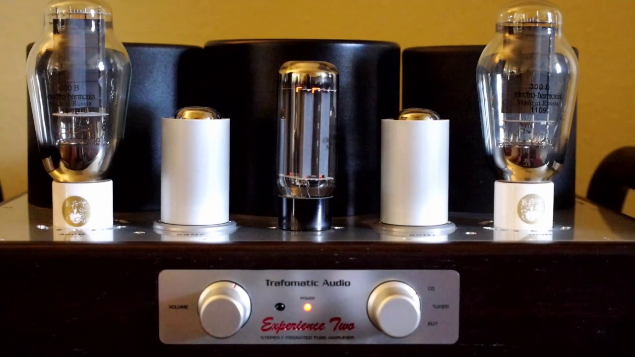 Trafomatic Audio - Experience Two 300B tube amp
