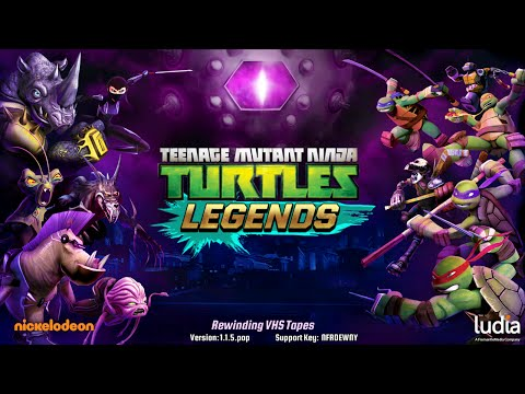 Teenage Mutant Ninja Turtles: Legends (by Ludia) - iOS / Android - HD Gameplay Trailer