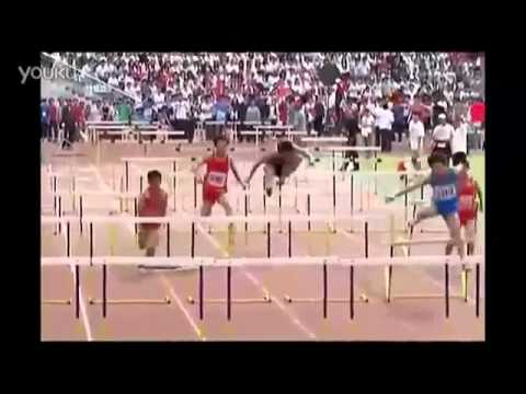 Chinese Athlete Hurdler FAILS at EVERY Hurdle