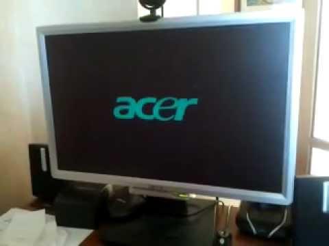 problema monitor acer al1916w youtube rh youtube com Acer AL1916 Specs Acer AL1916 Specs