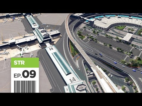 Cities Skylines: FBS International Airport — Part 9 — Inner Ring Detailing