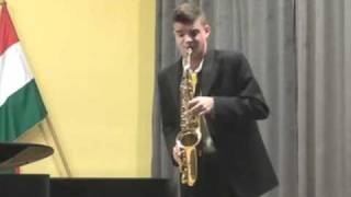 Kovács Endre Arnold (classical saxophone): Andre Chailleux - Andante at Allegro