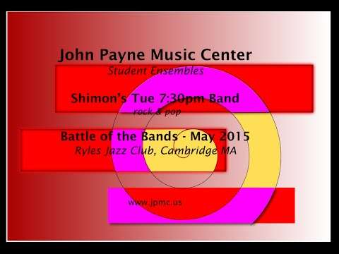 John Payne Music Center - Battle of the Bands - 5/2015 - Shimon's Tue 7:30pm Band