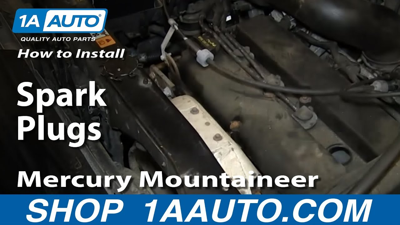 how to install replace spark plugs 2001 07 2 0l ford escape mercury mountaineer [ 1280 x 720 Pixel ]