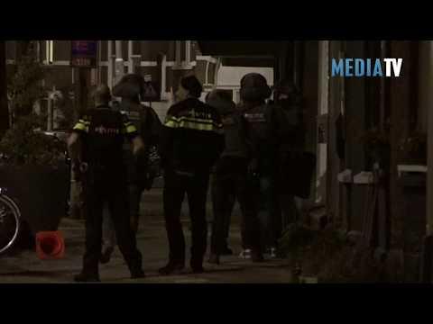 Man neergeschoten door politie Bergweg Rotterdam