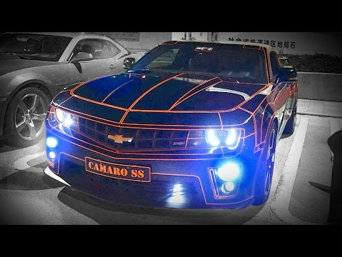 American Muscle Cars Take Over Tokyo