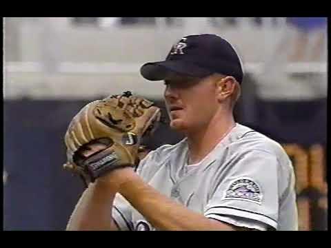 1998 Phillies vs Colorado   John Thomson vs Mike Grace