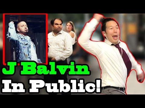 """J Balvin, Zion & Lennox  -  """"No Es Justo"""" - SINGING IN PUBLIC!!"""