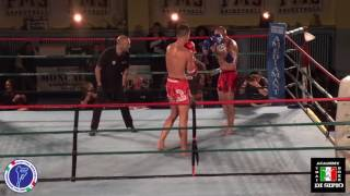 Simone Podestà vs Salvatore Giamporcaro , muay thai full rules kg. 81,00