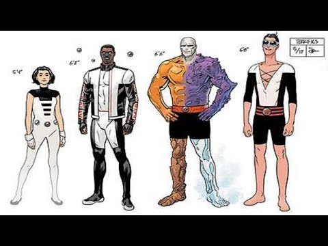 DC's New Age of Heroes! Full Break Down and Analysis! Featuring The Terrifics!