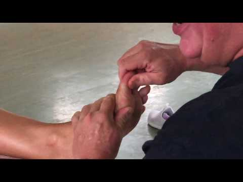 Deep tissue toe and foot massage. Part 3 of Brandon working on Angela in Tauranga, New Zealand.