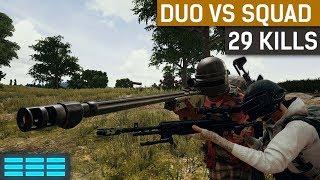 Duo vs Squad 29 Kill Total Mk14 & AWM ft. Hambinooo