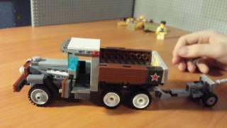 ГАЗ ААА (полуторка) из лего ★  Лего  Андрей