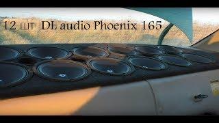 12 шт  DL audio Phoenix 165 в полке (эксперимент)