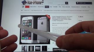 Coque Intégrale tactile iPhone 6 Plus / 6S Plus Avant Tactile Anti-Choc et Arrière Rigide