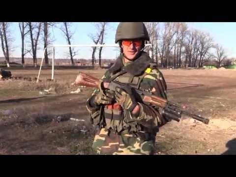 Луганский пограничный отряд: полгода войны АТО ВСУ 16.12.14