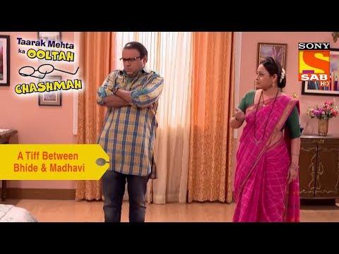 Your Favorite Character | A Tiff Between Bhide & Madhavi | Taarak Mehta Ka Ooltah Chashmah