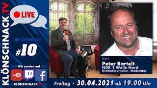 """""""Im Gespräch"""" mit Peter Bartelt, NDR 1 Welle Nord"""