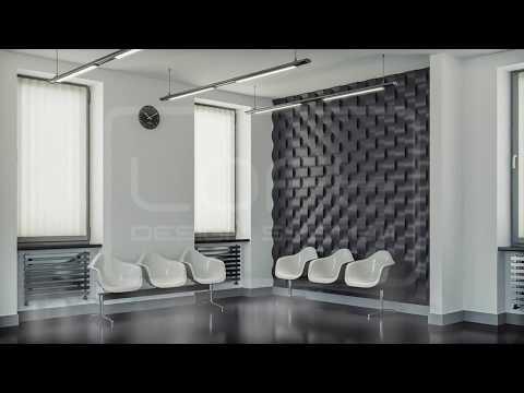 3D Wandpaneele -moderne Wandgestaltung | Raumausstattung Darmstadt Bardussow