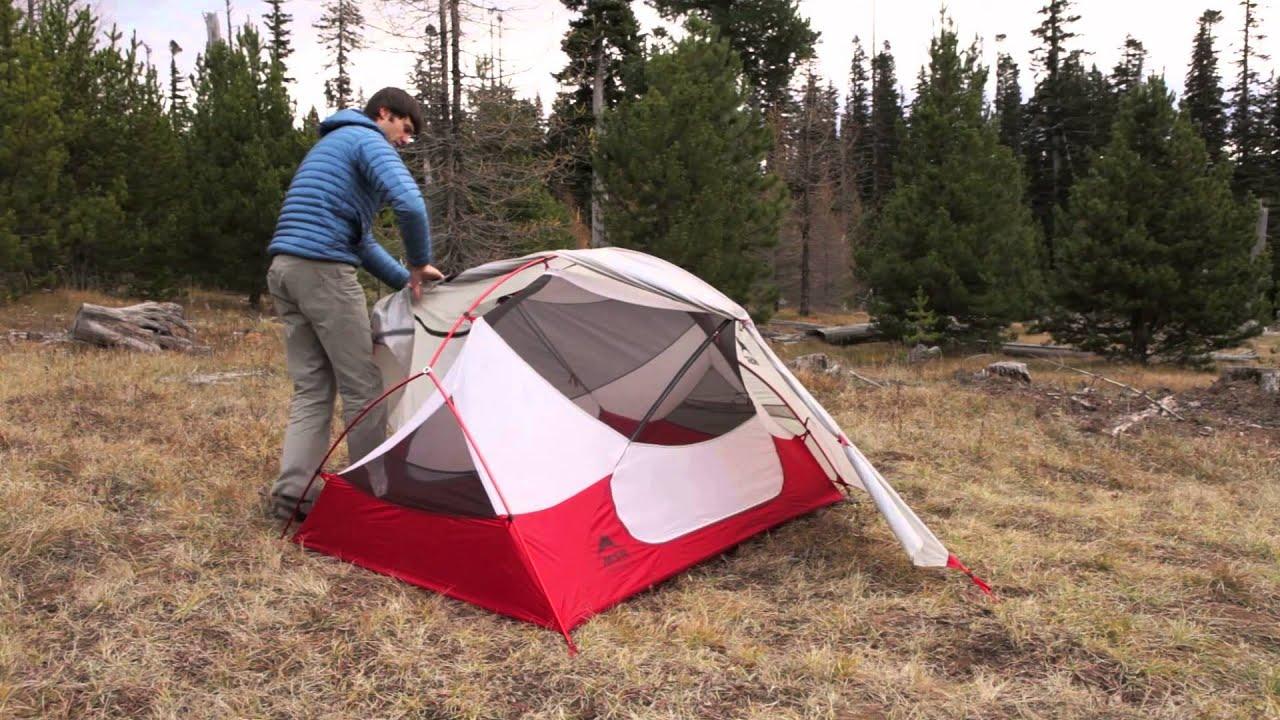 & Die neuen Zelte aus der Reihe Hubba™ NX aufzustellen. - YouTube