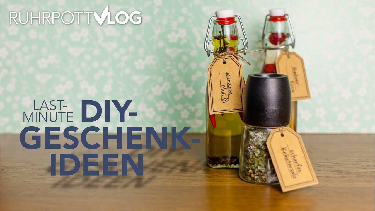 Last-Minute-Geschenkideen aus der Küche - DIY