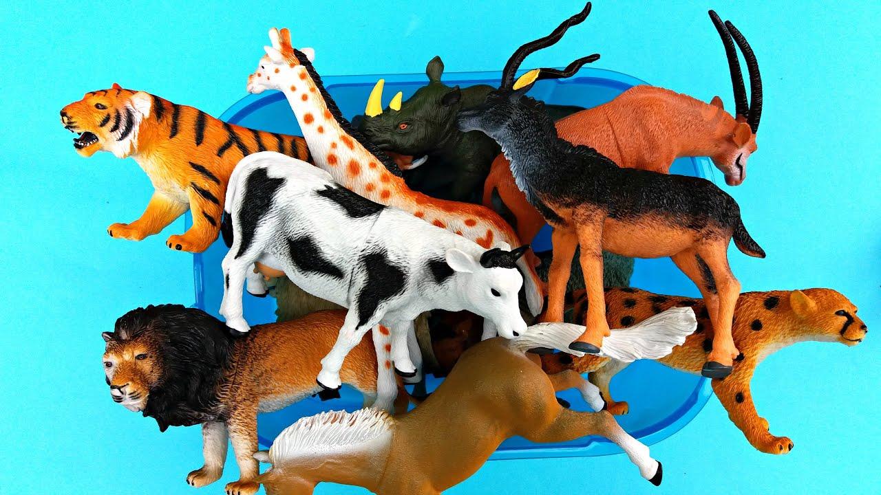 Zoo animals toys - photo#55