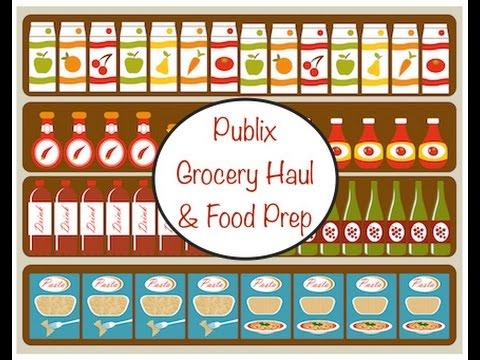 Publix Grocery Haul & Food Prep 2/7/16
