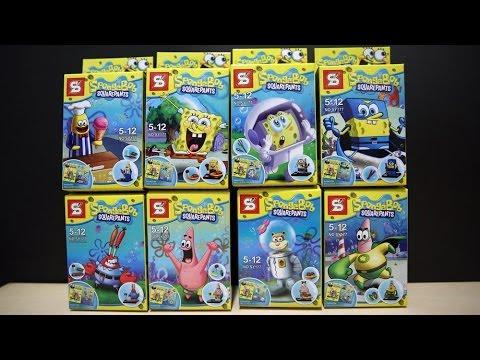 LEGO SpongeBob SquarePants Sheng Yuan Bootleg Review