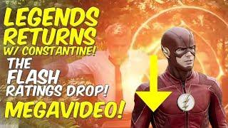 The Legends Return! The Flash Ratings DROP! + More MEGAVIDEO!