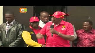 Rais na Naibu wake wafanya kampeni kaunti ya Bungoma